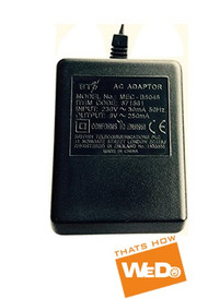 BT MEC-B5046 871561 POWER SUPPLY AC ADAPTER 9V 250mA