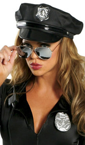 Reflective sunglasses. Blocks UVA and UVB rays.