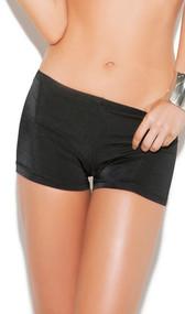 Nylon Lycra hot pants.