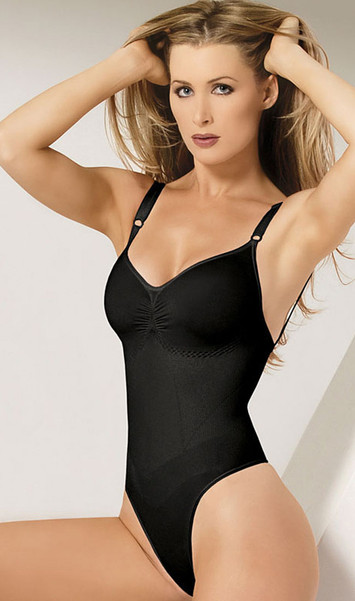 Seamless thong back body shaper.