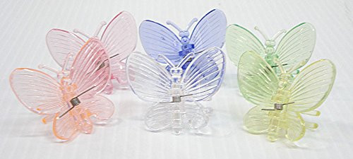 Butterfly Clips For Orchids Or Plant Spikes Pack Of 500 Assorted