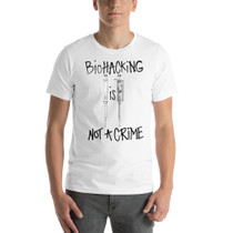 Biohacking is Not a Crime T-shirt