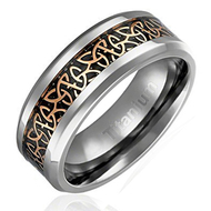 mens celtic wedding bands gold and silver, mens celtic wedding ring gold