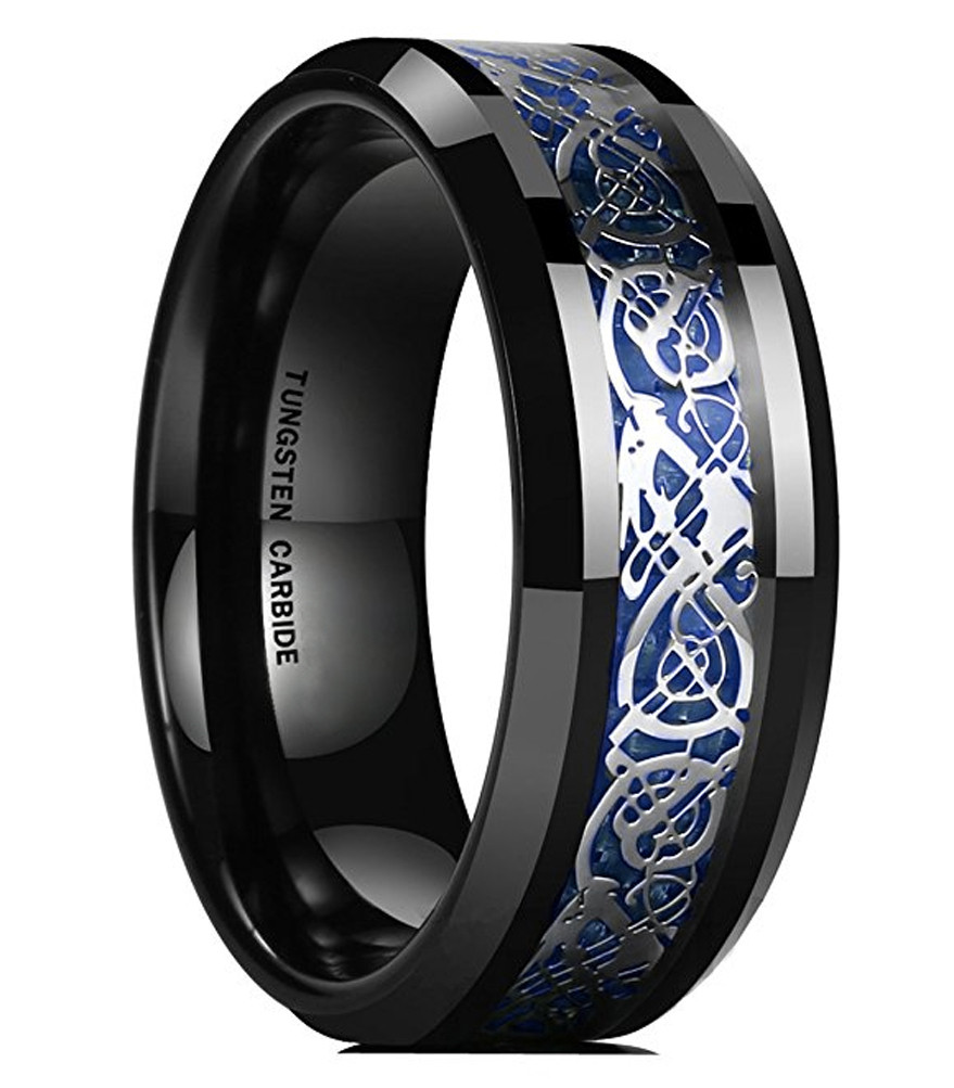 11995: Wedding Band Gunmetal Blue At Websimilar.org
