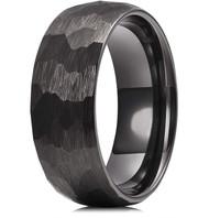 mens tungsten wedding bands black, mens tungsten ring black