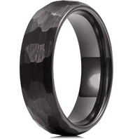 couples tungsten wedding bands black, mens tungsten ring black, womens