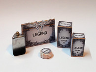Kit - Gents, Mens Legend deluxe toiletry set , aftershave,cologne,toilet bag