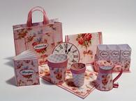 Download - Pink Shabby Chic Kitchen accessories No1