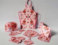 Download - Pink Shabby Chic Kitchen accessories No2