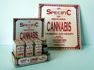 Download-Vintage Pharmacy Cannabis Poison Display stand