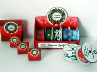 Kit- Christmas Ribbon  Display Stand and gift bags