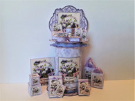 KIT -A la Violette Perfume & Toiletry Stand