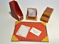Download - Tartan Stationery Set