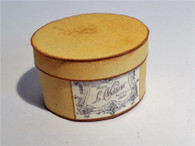 Download - Gents top hat in oval box No4 - Vaseur