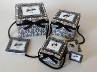 Download - Sqaure hat Box set - Black & white