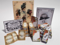 Kit - Hat Pin Display cards, boxes & posters