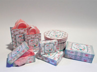Kit - Easter pastel Boxes & Bags #1