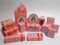Kit - Easter Boxes - Pink with Easter Egg