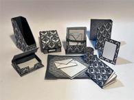 Kit  - Desk Necessities -Modern Stationery - Monochrome