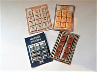 Kit - Vintage needle display cards