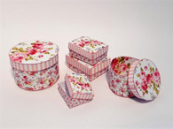 Kit - Pink Shabby Chic Boxes