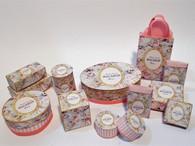 Kit-Macaron Boxes - Pink Floral