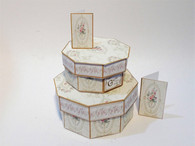 Download - Shabby Chic Hexagon Hat Boxes No3