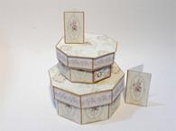 Kit - Shabby Chic Hexagon Hat Boxes No3