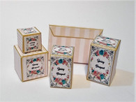 Kit - Spring Bouquet Toiletry Boxes