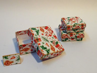 Download - Christmas Seasonal Boxes - Orange Green
