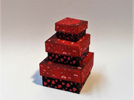 Download - Valentine Square Boxes Red & Black