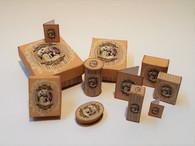 Kit - Romantic perfume/toiletry/presentation Boxes Gold