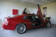 Nissan 300ZX Vertical Lambo Doors Bolt On 90 91 92 93 94 95 96
