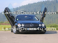 Mercedes Benz C Class Vertical Lambo Doors Bolt On 07 08 up
