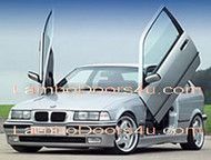 BMW Compact E36 Vertical Lambo Doors Bolt On 93 94 95 96 97 98 99 00
