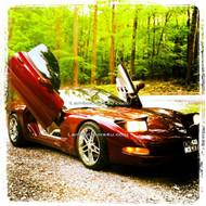 Chevrolet Corvette C5 Vertical Lambo Doors Bolt On 97 98 99 00 01 02 03 04