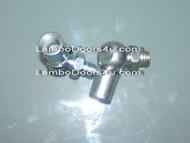 Lambo Door Shock Mountings 2pcs Set Silver