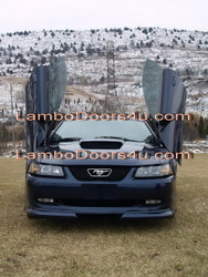 Ford Mustang Vertical Lambo Doors Bolt On 99 00 01 02 03 04