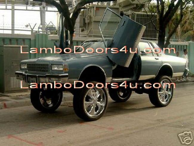 Chevrolet Impala Vertical Lambo Doors Bolt On 71 72 73 74 75