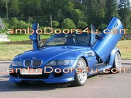 BMW Z3 Roadster Vertical Lambo Doors Bolt On 96 97 98 99 00 01 02