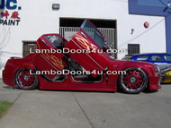 REAR Dodge Charger Vertical Lambo Doors Bolt On 06 up