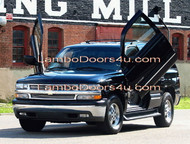 GMC Sierra C3 Denali Vertical Lambo Doors Bolt On 99 00 01 02 03 04 05 06