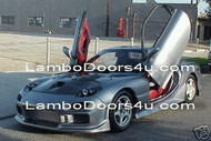 Mazda RX7 Vertical Lambo Doors Bolt On 86 87 88 89 90 91