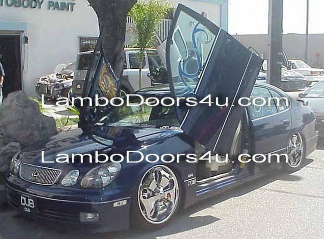 Lexus Gs300 Gs400 Vertical Lambo Doors Bolt On 93 94 95 96 97 Lambodoors4u Com