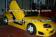 Toyota Supra MK IV Vertical Lambo Doors Bolt On 93 94 95 96 97 98 99 00 01 02