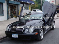 Mercedes Benz W210 E-Class Sedan Vertical Lambo Doors Bolt On 96 97 98 99 00 01 02