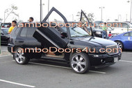 GMC Envoy XL Vertical Lambo Doors Bolt On 98 99 00