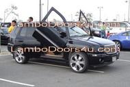 GMC Envoy XL Vertical Lambo Doors Bolt On 98 99 00