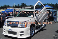 Cadillac Escalade Vertical Lambo Doors Bolt On 07 08 09 10