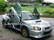 Subaru Impreza WRX STI Vertical Lambo Doors Bolt On 2dr 4dr 01 02 03 04 05 06 07
